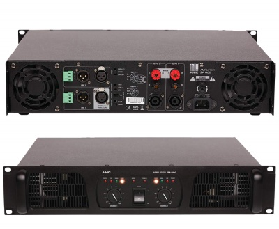 2A 600 усилитель для систем озвучивания и оповещения