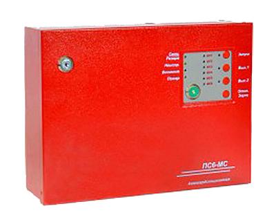 ПС-6МС прибор приемно-контрольный пожарный для систем пожарной сигнализации