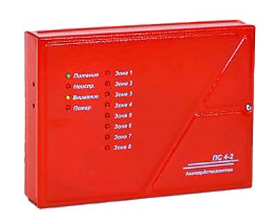 ПС4-2 прибор приемно-контрольный пожарный для систем пожарной сигнализации