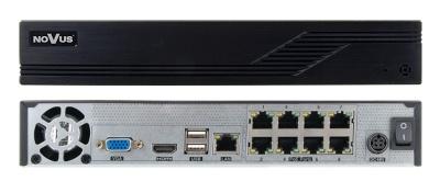 NVR-6208P8-H1 видеорегистратор IP для систем видеонаблюдения 8-канальный H.264/H.264+/H.265
