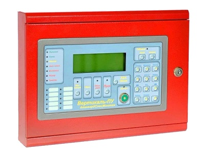 Вертикаль-ПУ центральный пульт управления для систем пожарной сигнализации