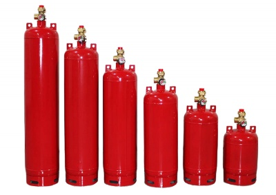 Модули газового пожаротушения для систем безопасности