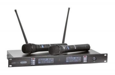 iLive 2X2 беспроводная микрофонная система на два микрофона для систем оповещения
