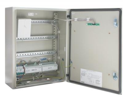 ШПС-24 шкаф пожарной сигнализации для систем безопасности