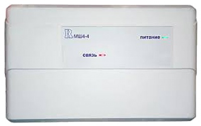 МШ4-4 Модуль контроля неадресных шлейфов для систем адресной пожарной сигнализации Бирюза