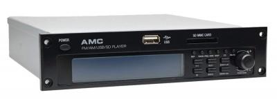 FM/AM/USB/SD модуль для усилителя AMC для систем озвучивания и оповещения