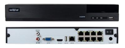 NVR-6308P8-H1 видеорегистратор IP для систем видеонаблюдения 8-канальный H.264/H.264+/H.265 8 Тб