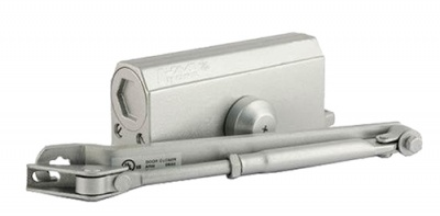Доводчик №2S (серебро) для систем контроля и управления доступом