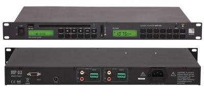 MP 03 музыкальный проигрыватель AMC для систем озвучивания и оповещения
