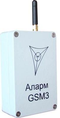 Аларм GSM3 исполнение А модуль сопряжения для систем безопасности