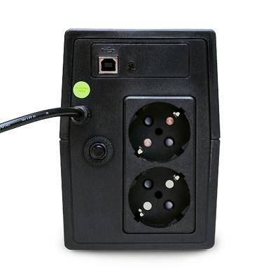 ИБП Powerman Back Pro 800, 800VA/480W для систем безопасности