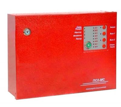 ПС8-МС прибор приемно-контрольный пожарный для систем пожарной сигнализации