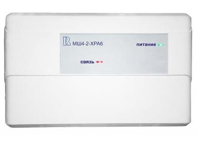 МШ4-2-ХРА6 модуль для систем адресной пожарной сигнализации Бирюза