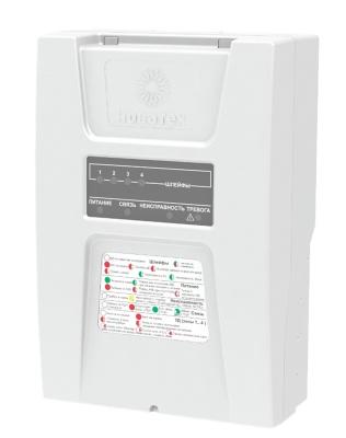 ПКО-4-3G Прибор приемно-контрольный охранный 4-х  шлейфный для систем безопасности
