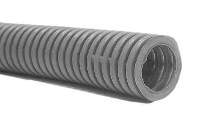 Труба гофрированная 16мм ПВХ для систем безопасности
