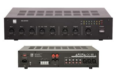 MA2x100 усилитель для систем озвучивания и оповещения